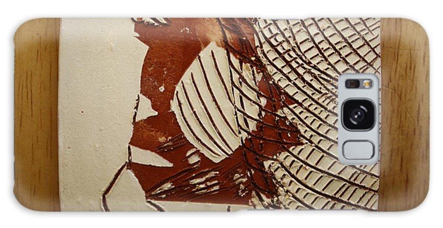 Jesus Galaxy S8 Case featuring the ceramic art Myra - Tile by Gloria Ssali
