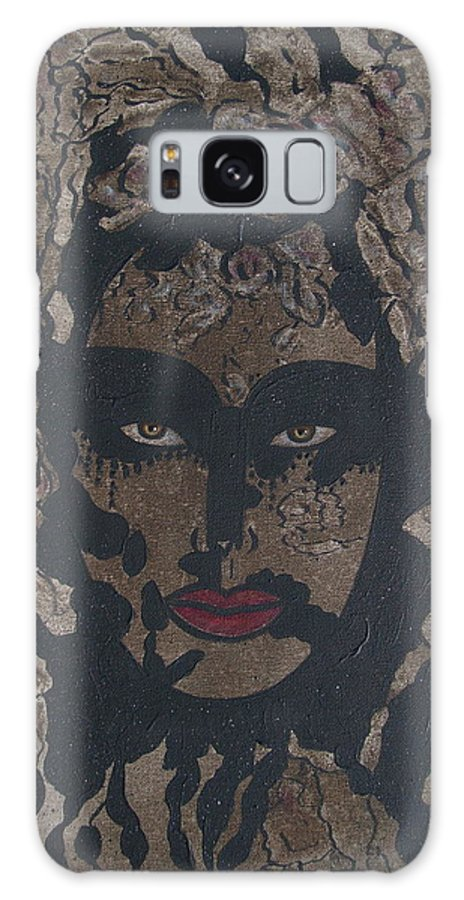 Figurative Galaxy S8 Case featuring the painting Mysterious Desire by Natalie Holland
