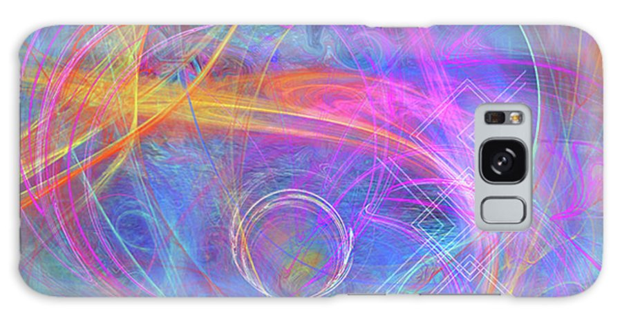 Mystic Beginning Galaxy S8 Case featuring the digital art Mystic Beginning by John Beck