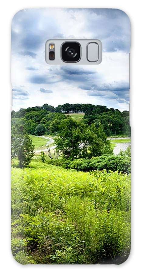 Nature Galaxy S8 Case featuring the photograph Mystic Hillside by Greg Fortier