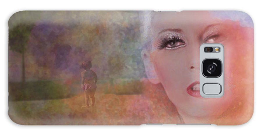 Woman Galaxy Case featuring the photograph Mystic Woman by Jeff Burgess