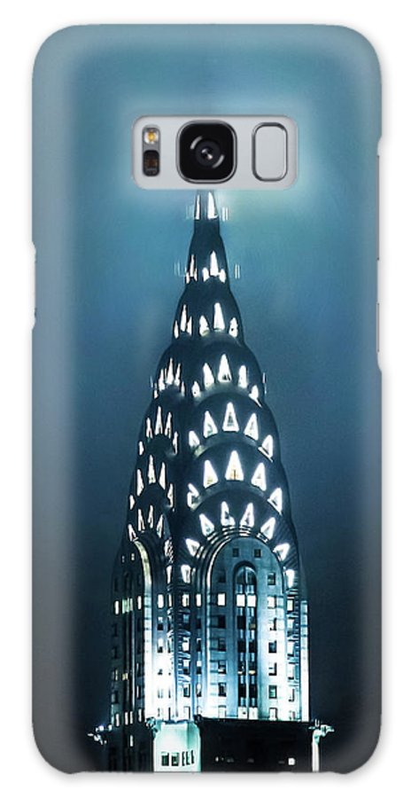 New York City Galaxy Case featuring the photograph Mystical Spires by Az Jackson