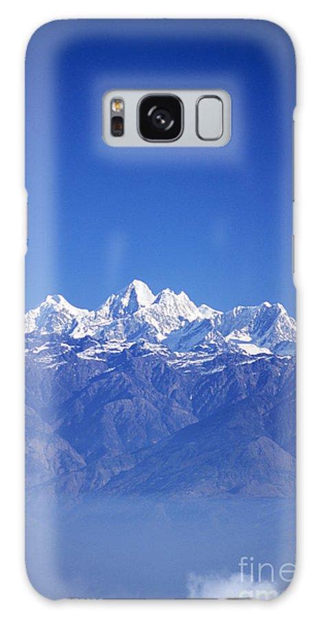 Air Art Galaxy S8 Case featuring the photograph Nagarkot View by Gloria & Richard Maschmeyer - Printscapes