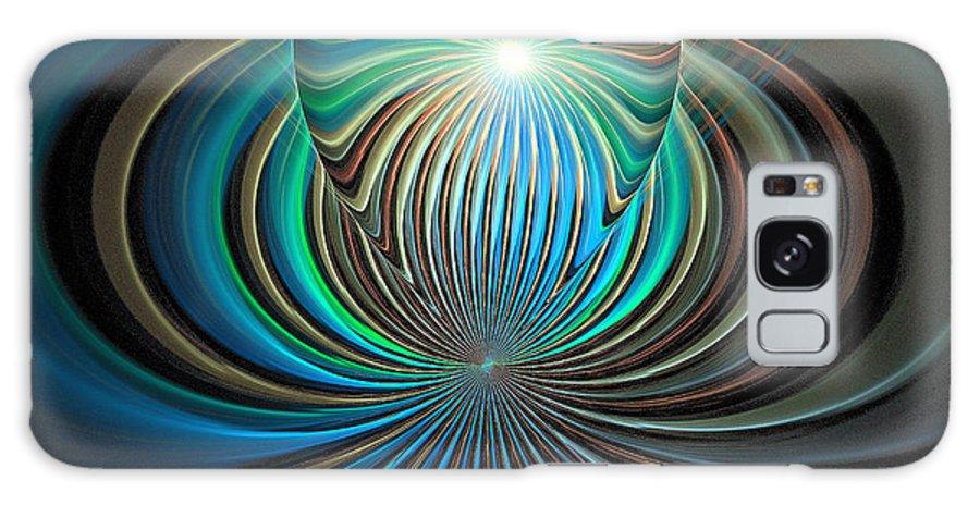 Digital Art Galaxy S8 Case featuring the digital art Namaste by Amanda Moore