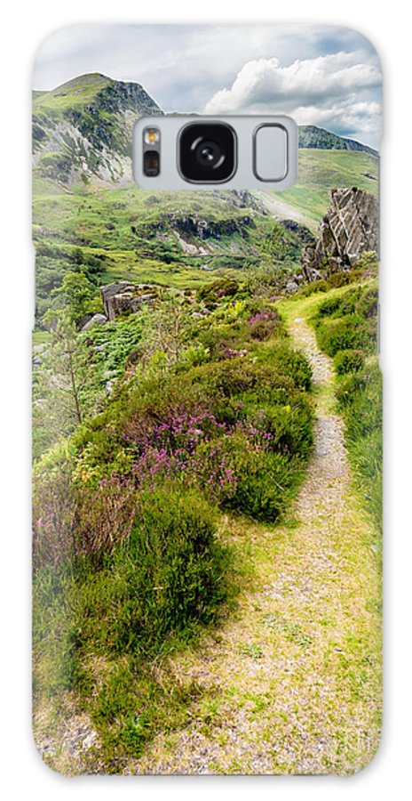 Countryside Galaxy S8 Case featuring the photograph Nant Ffrancon Footpath by Adrian Evans