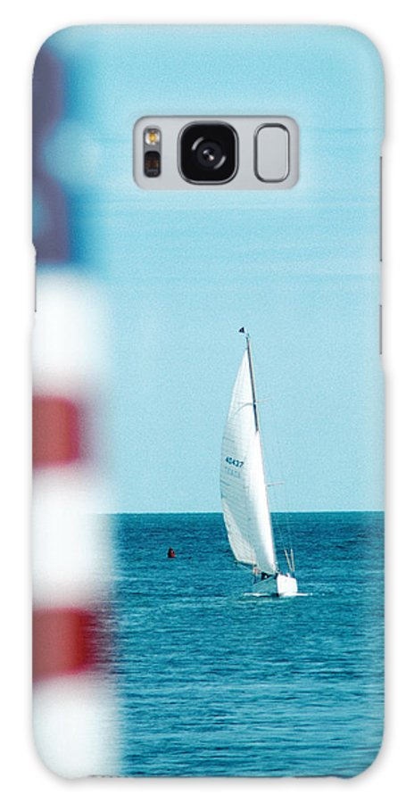 America Galaxy S8 Case featuring the photograph Nantucket Sailing by Steve Somerville