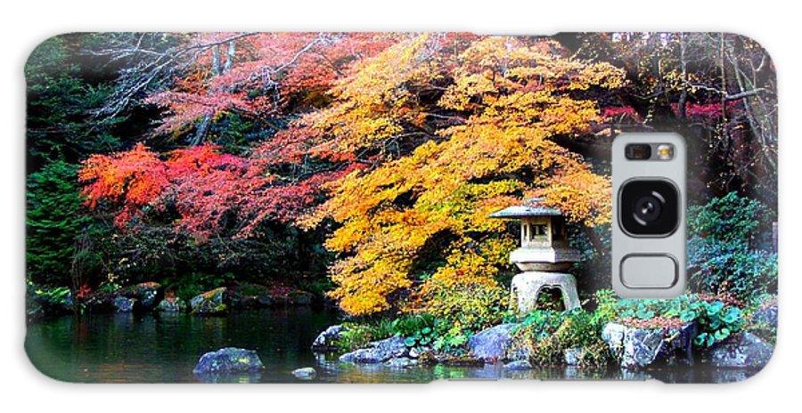Garden Galaxy S8 Case featuring the photograph Naritasan Temple Garden by Patti Bean