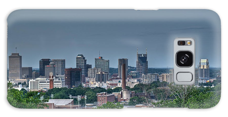Nashville Galaxy S8 Case featuring the photograph Nashville Skyline 2 by Douglas Barnett