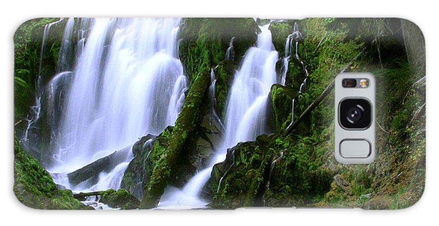 Waterfall Galaxy S8 Case featuring the photograph National Creek Falls 02 by Peter Piatt