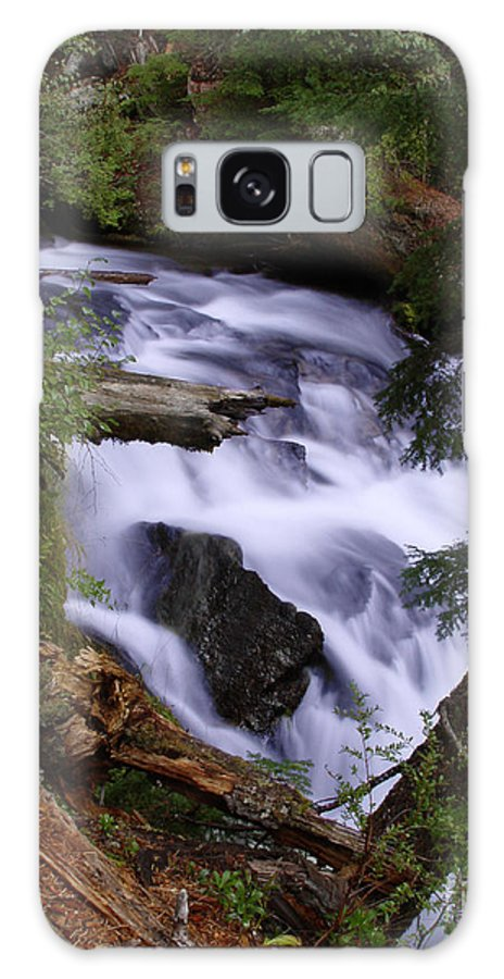 Waterfall Galaxy Case featuring the photograph National Creek Falls 03 by Peter Piatt