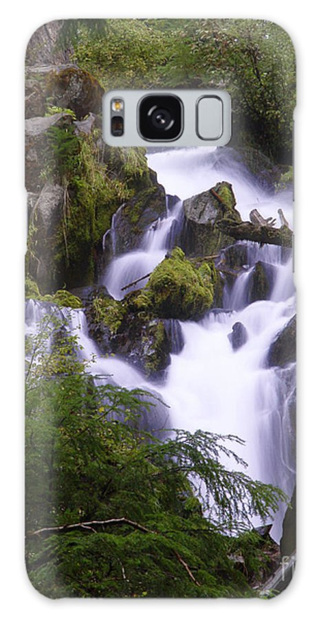 Waterfall Galaxy S8 Case featuring the photograph National Creek Falls 05 by Peter Piatt