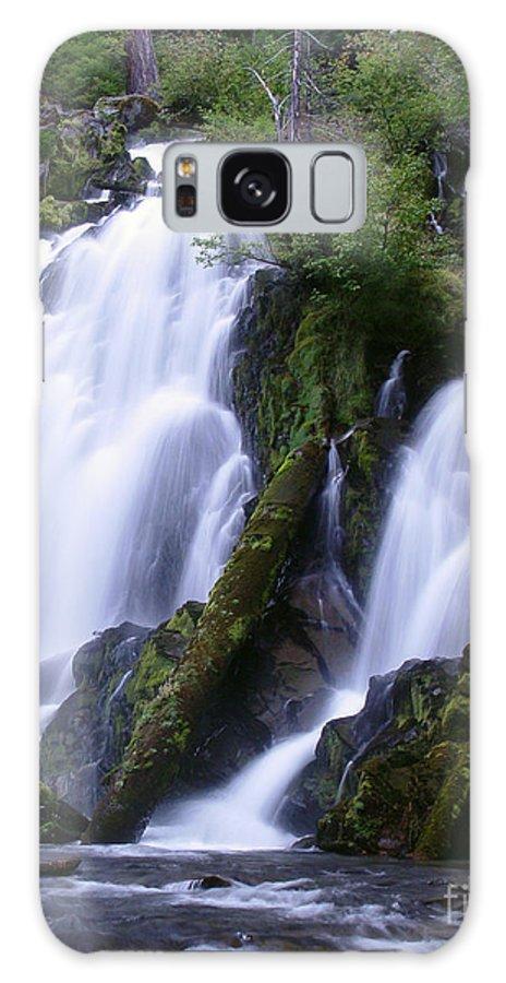 Waterfall Galaxy S8 Case featuring the photograph National Creek Falls 09 by Peter Piatt