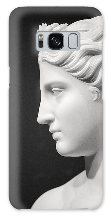 Statue Galaxy S8 Case featuring the photograph National Portrait Gallery Statue Profile by Don Johnson