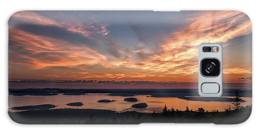 Acadia National Park Galaxy S8 Case featuring the photograph National Sunrise by John M Bailey