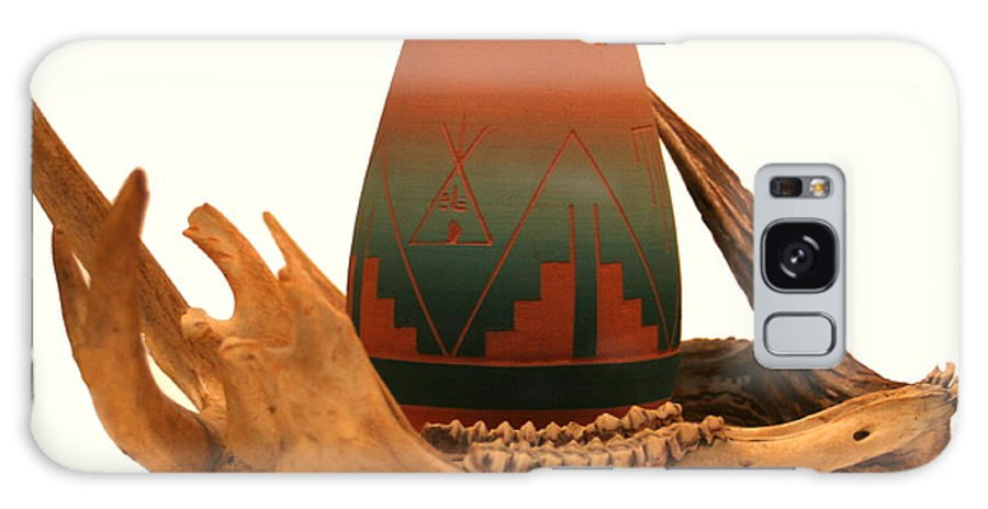 Sioux Pottery Galaxy S8 Case featuring the photograph Native American Still Life by Diane Merkle