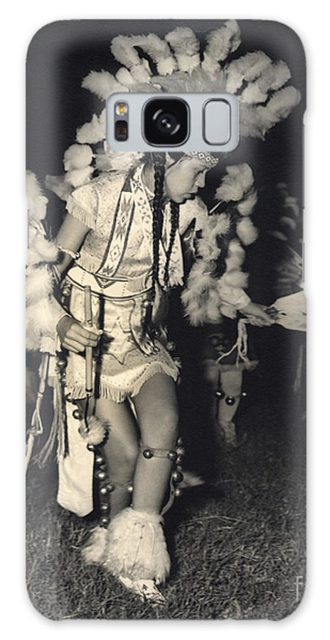 Indian Galaxy S8 Case featuring the photograph Native Dancer by Larry Keahey