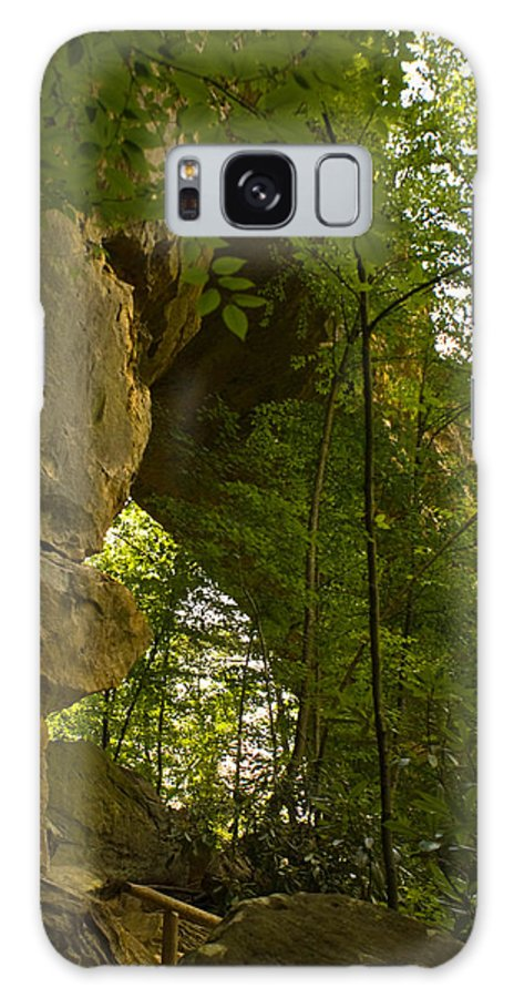 Natural Arch Galaxy S8 Case featuring the photograph Natural Arch by Douglas Barnett