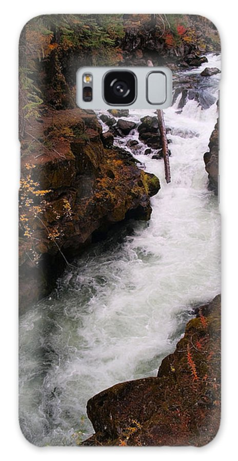 Water Galaxy S8 Case featuring the photograph Natural Bridge Gorge by Teri Schuster