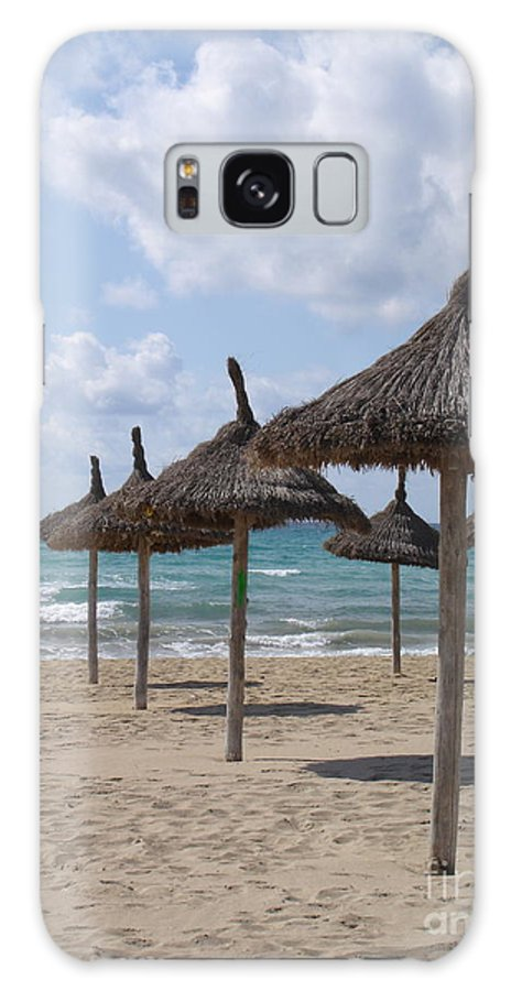 Beach Galaxy S8 Case featuring the photograph Natural Umbrella by Chad Natti