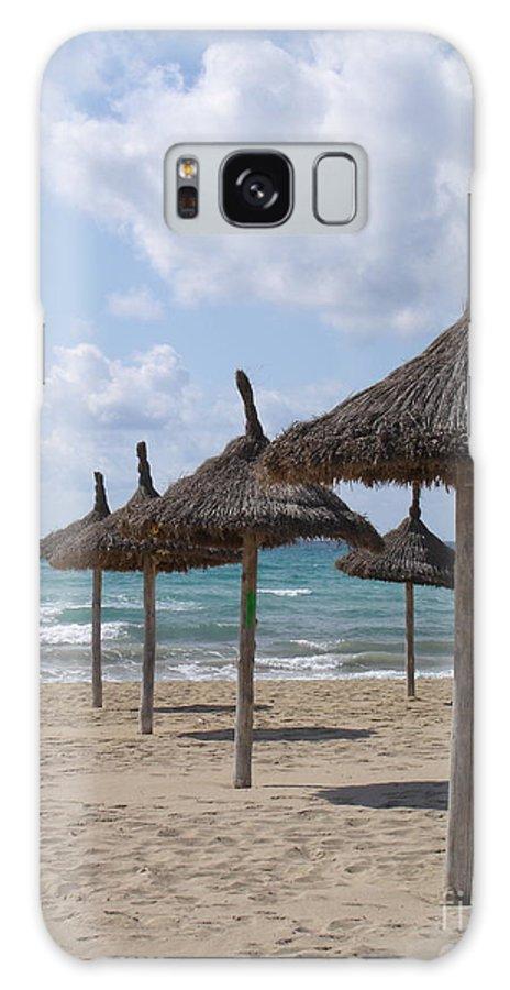 Beach Galaxy S8 Case featuring the photograph Natural Umbrella by Chad Natti