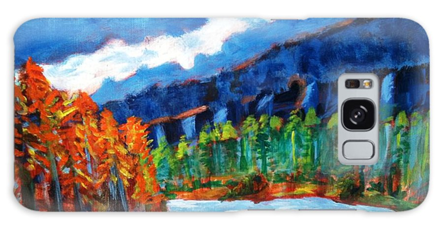 Mountains Galaxy Case featuring the painting Naturals by R B
