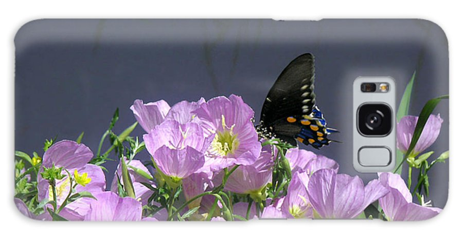 Nature Galaxy Case featuring the photograph Nature In The Wild - Profiles By A Stream by Lucyna A M Green