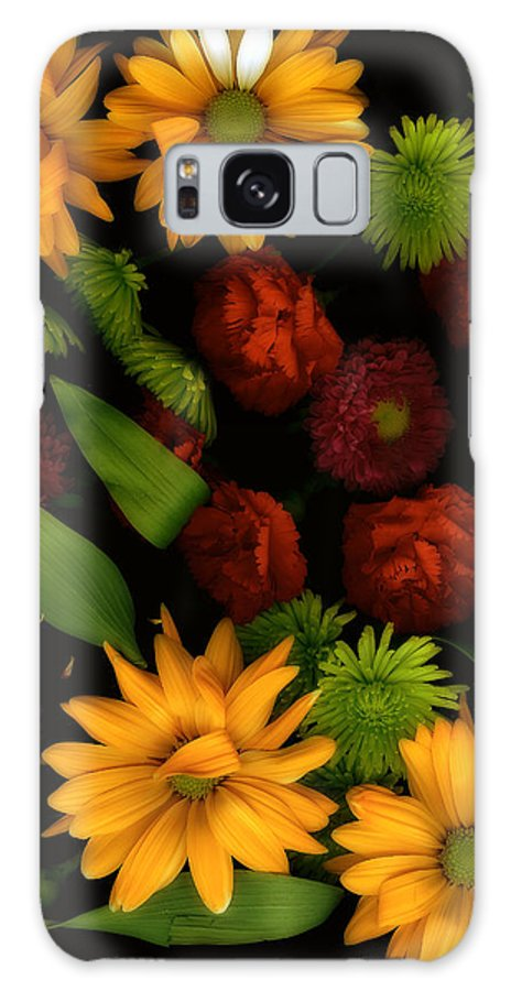 Gerbera Daisies Galaxy S8 Case featuring the photograph Nature's Song by Bonnie Bruno