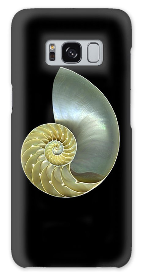 Slanec Galaxy S8 Case featuring the photograph Nautilus Nr.1 by Christian Slanec