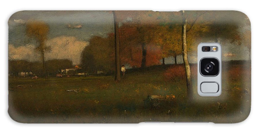 George Inness Galaxy S8 Case featuring the painting Near The Village, October by George Inness