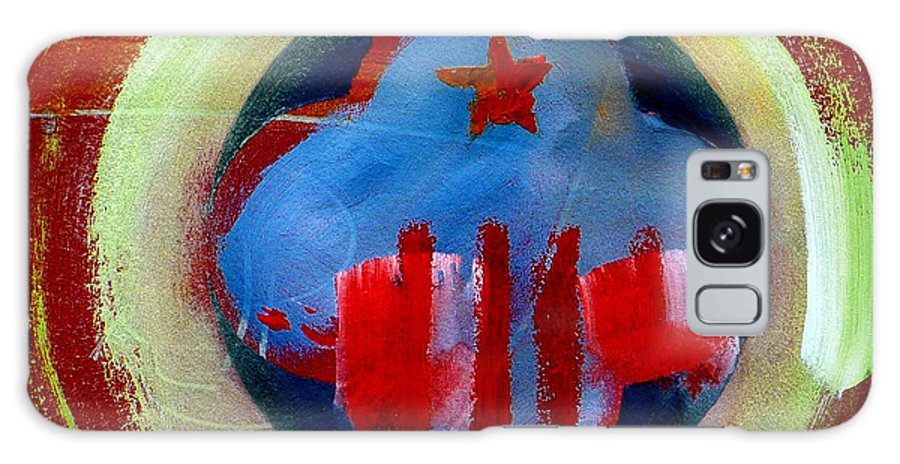 American State Galaxy S8 Case featuring the painting Nebraska by Charles Stuart