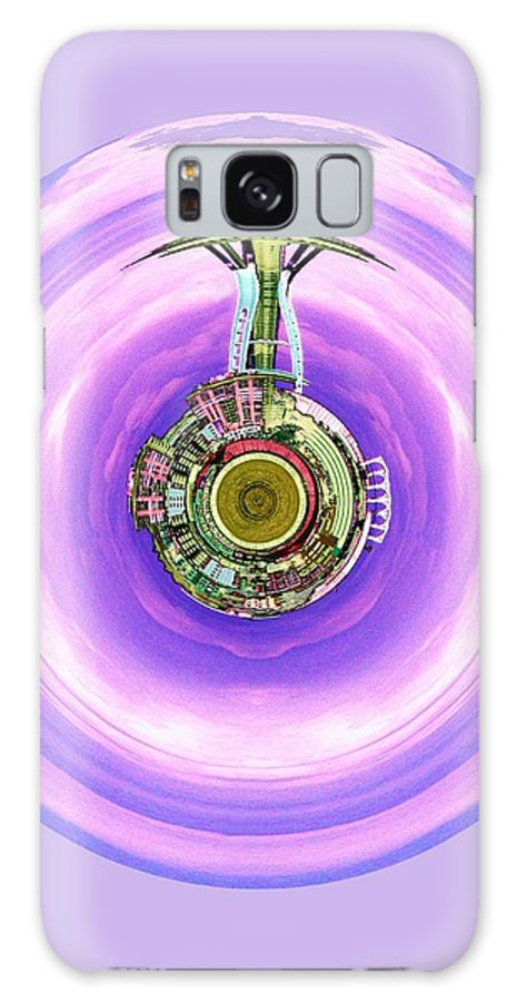 Seattle Galaxy S8 Case featuring the photograph Needle In A Bubble by Tim Allen