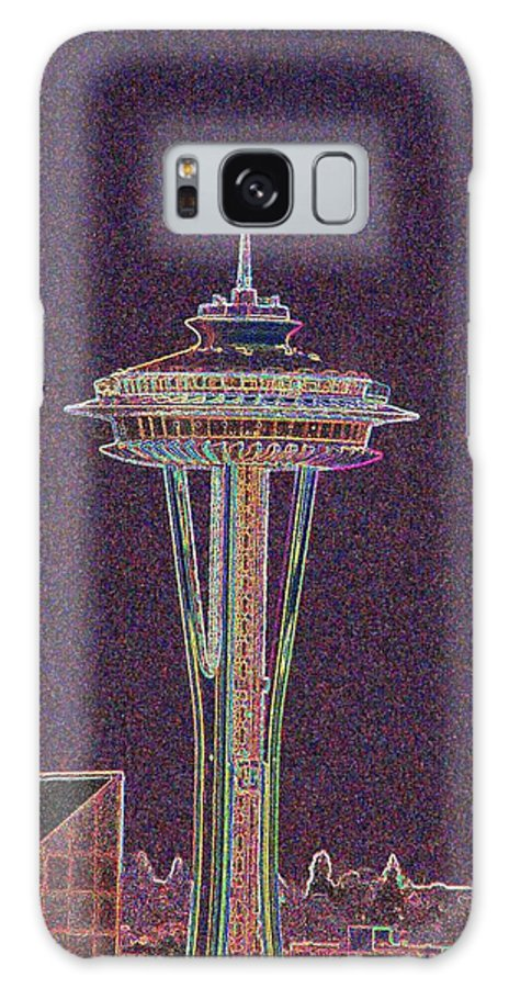 Seattle Galaxy S8 Case featuring the photograph Needle by Tim Allen