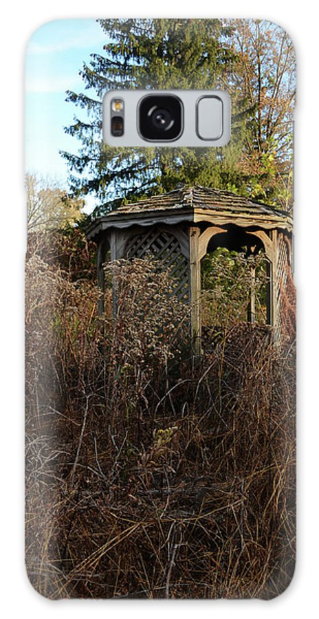 Nature Galaxy S8 Case featuring the photograph Neglected Old Gazebo by Stacy Zelle