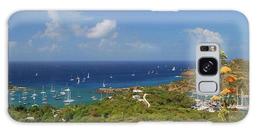 Caribbean Islands Galaxy S8 Case featuring the photograph Nelson's Dockyard Antigua by Gary Wonning