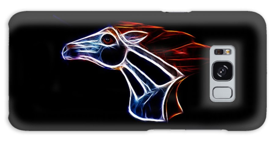 Bronco Galaxy S8 Case featuring the photograph Neon Bronco II by Shane Bechler