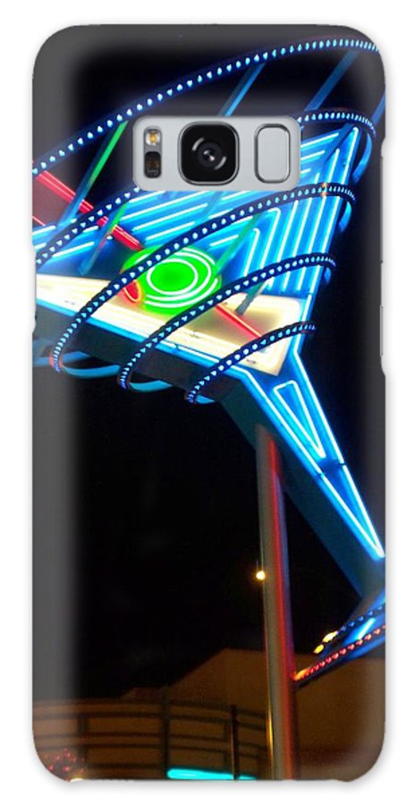 Fremont East Galaxy Case featuring the photograph Neon Signs 4 by Anita Burgermeister