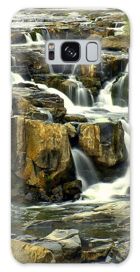 Waterfall Galaxy S8 Case featuring the photograph Nevada Falls by Marty Koch