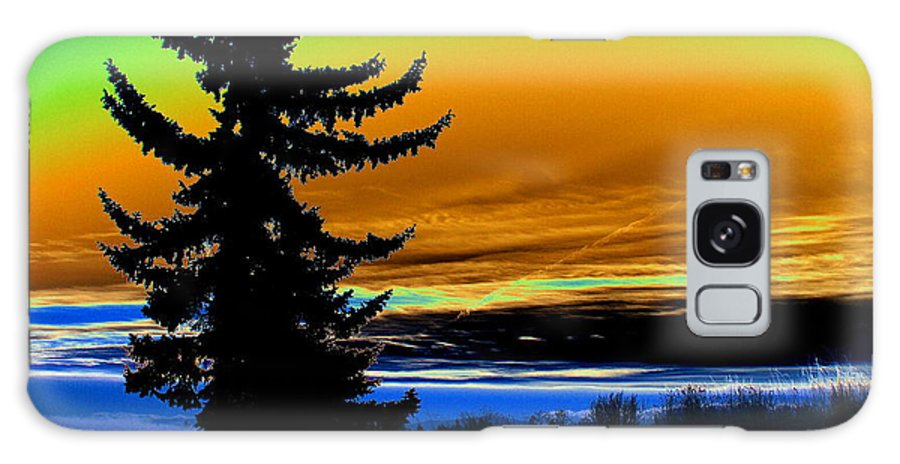 Photo Art Galaxy S8 Case featuring the photograph New Dawn In Spokane by Ben Upham III