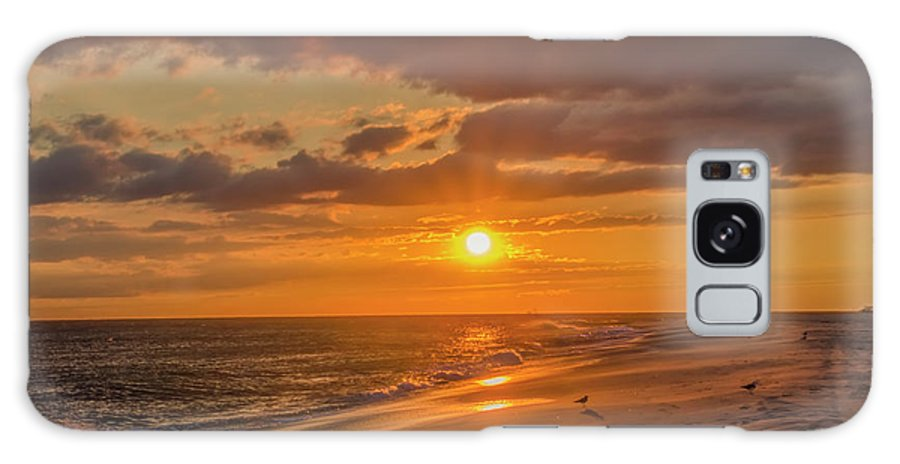 New Galaxy S8 Case featuring the photograph New Jersey Has The Best Sunsets - Cape May by Bill Cannon