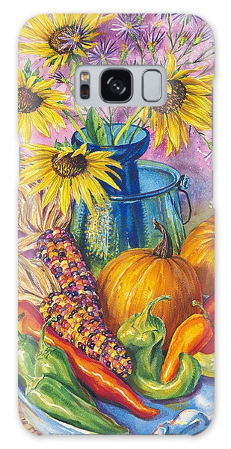 Still Life Galaxy S8 Case featuring the painting New Mexico Harvest by John Rose