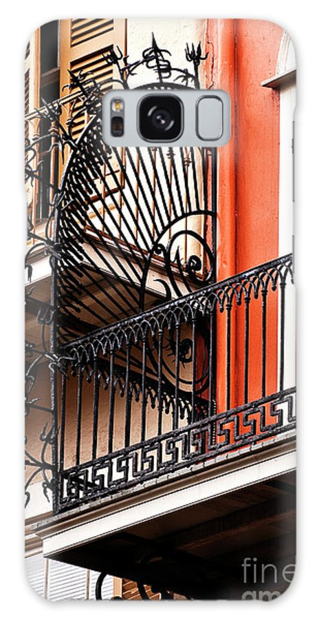 Balcony Galaxy S8 Case featuring the photograph New Orleans Balcony by Kathleen K Parker