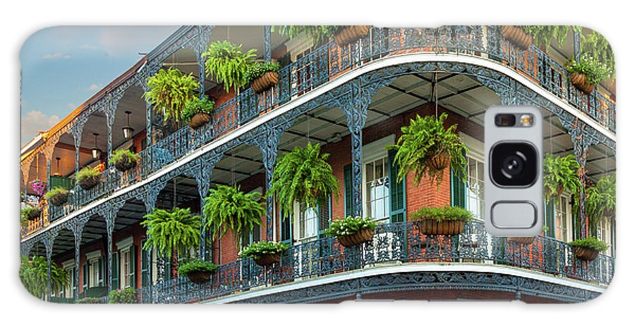 America Galaxy S8 Case featuring the photograph New Orleans House by Inge Johnsson