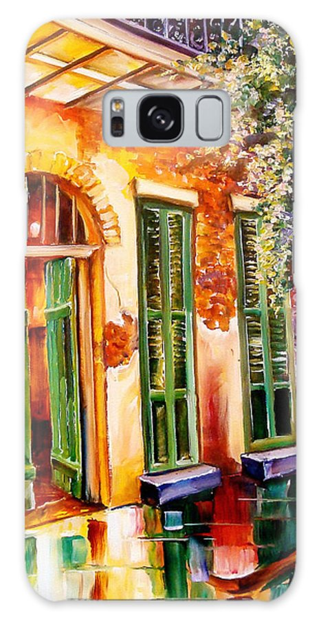 New Orleans Galaxy S8 Case featuring the painting New Orleans Mystery by Diane Millsap
