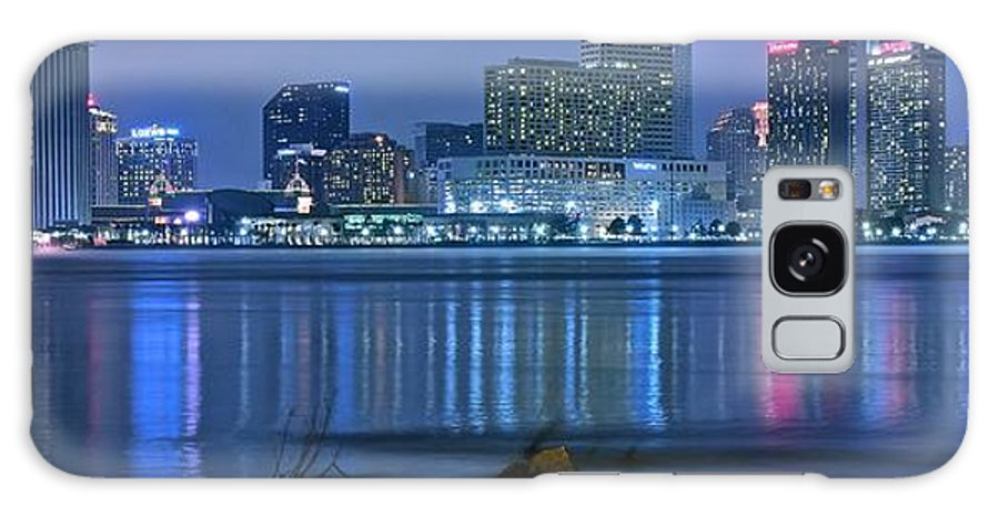 New Galaxy S8 Case featuring the photograph New Orleans Panorama by Frozen in Time Fine Art Photography
