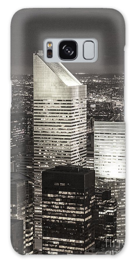 Amerikanisch Galaxy S8 Case featuring the photograph New York Citigroup Center by Juergen Held