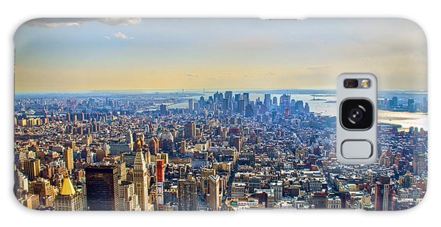 Nyc Galaxy S8 Case featuring the photograph New York City - Manhattan by Mark Dodd