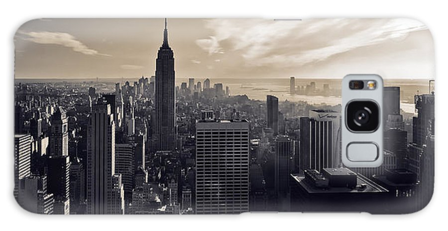 New York Galaxy S8 Case featuring the photograph New York by Dave Bowman