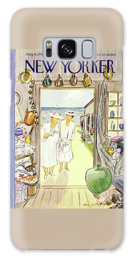 New Yorker August 6 1949 Galaxy Case