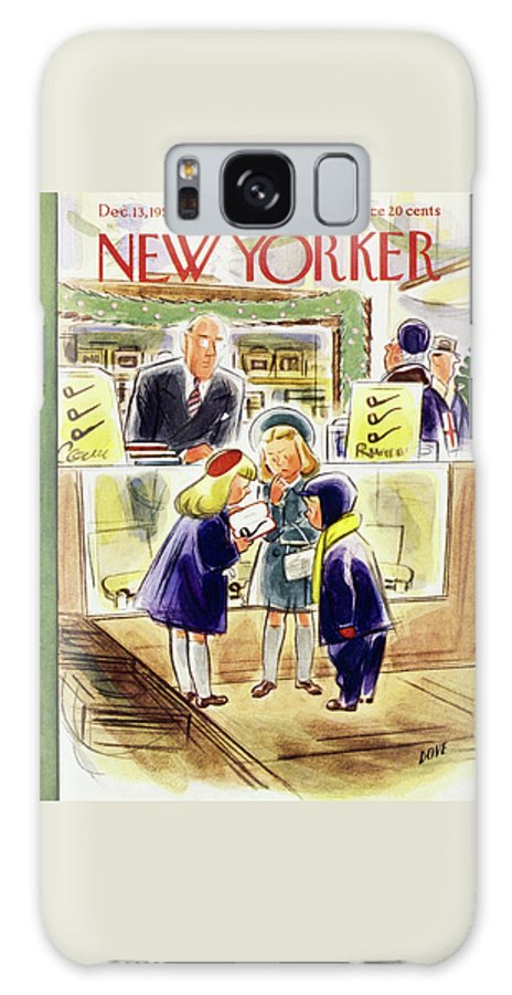 New Yorker December 13 1952 Galaxy S8 Case