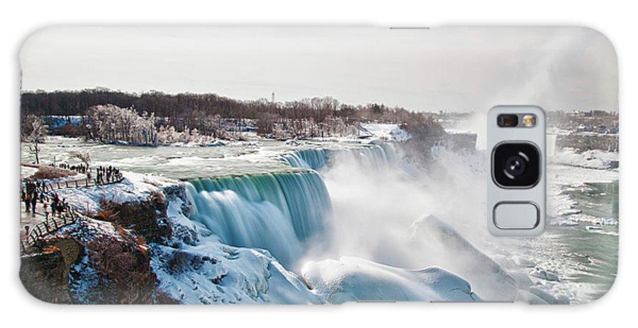 Niagara Falls Galaxy S8 Case featuring the photograph Niagara Falls 4589 by Guy Whiteley